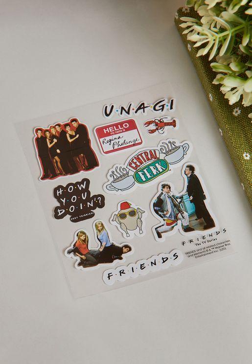 Friends Licensed Sticker Sheet