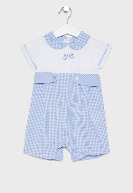 Infant Embroidered Romper