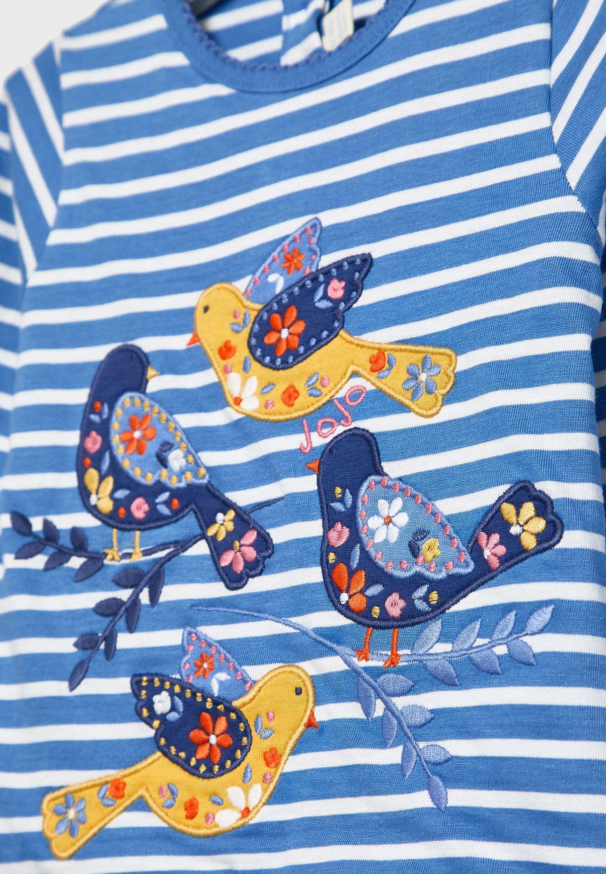 Kids Pretty Bird T-Shirt