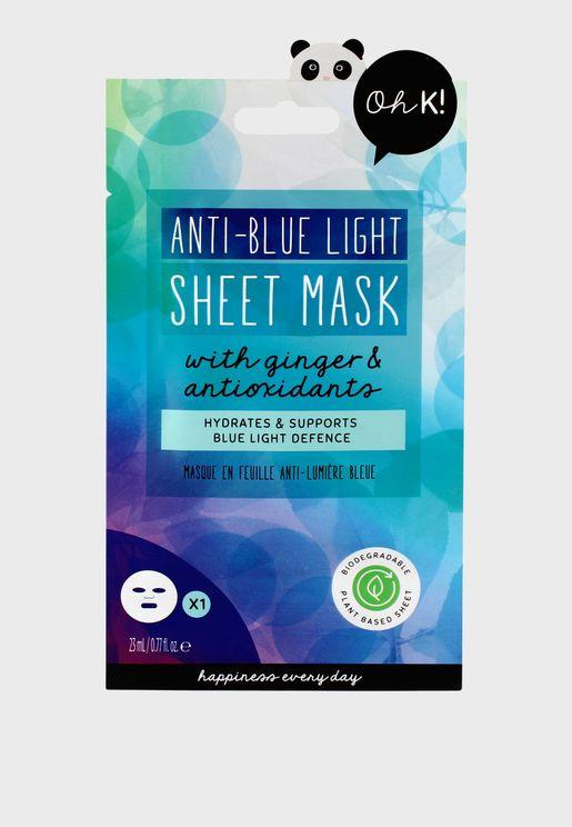 Protect & Hydrate Anti-Blue Light Sheet Mask
