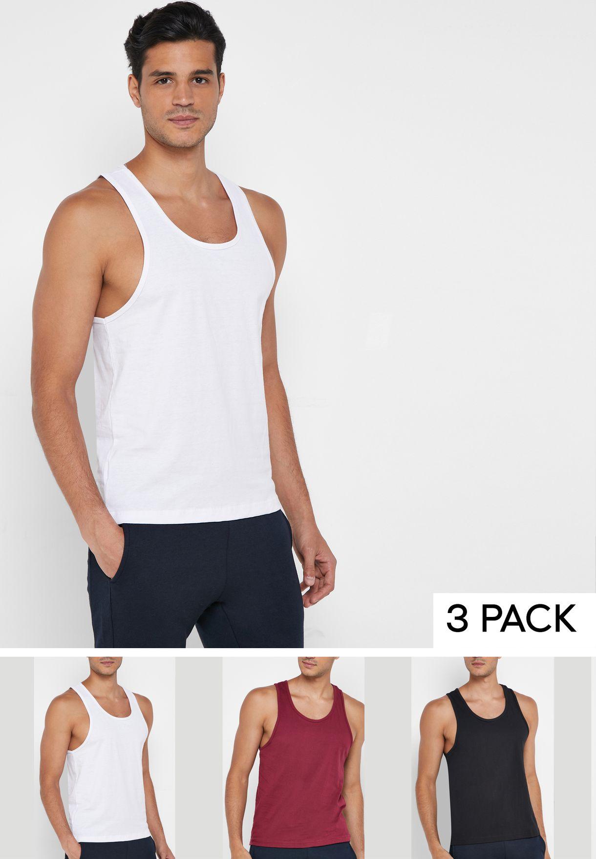 3 Pack Vests