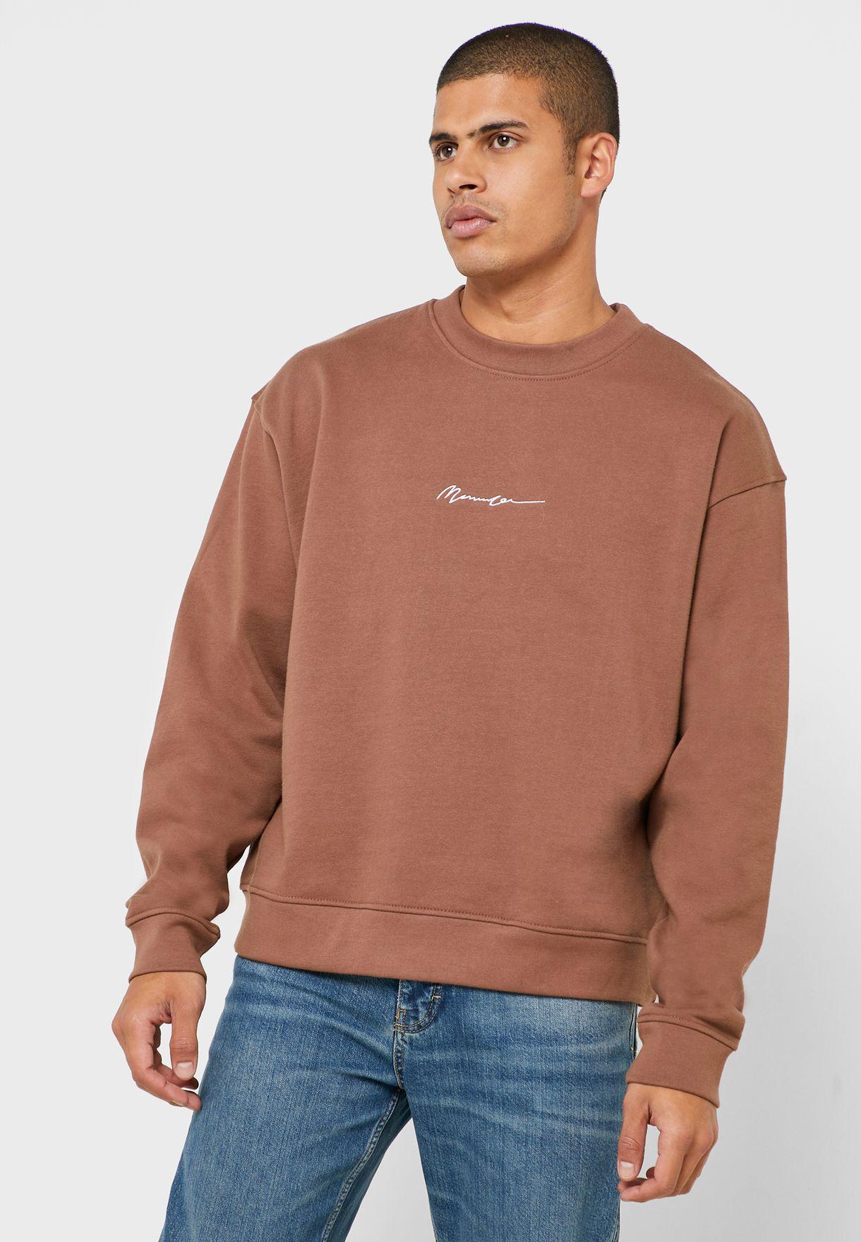 Signature Boxy Sweatshirt