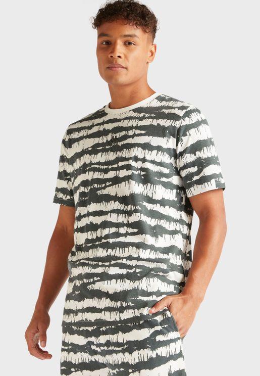 Logo Camo T-Shirt