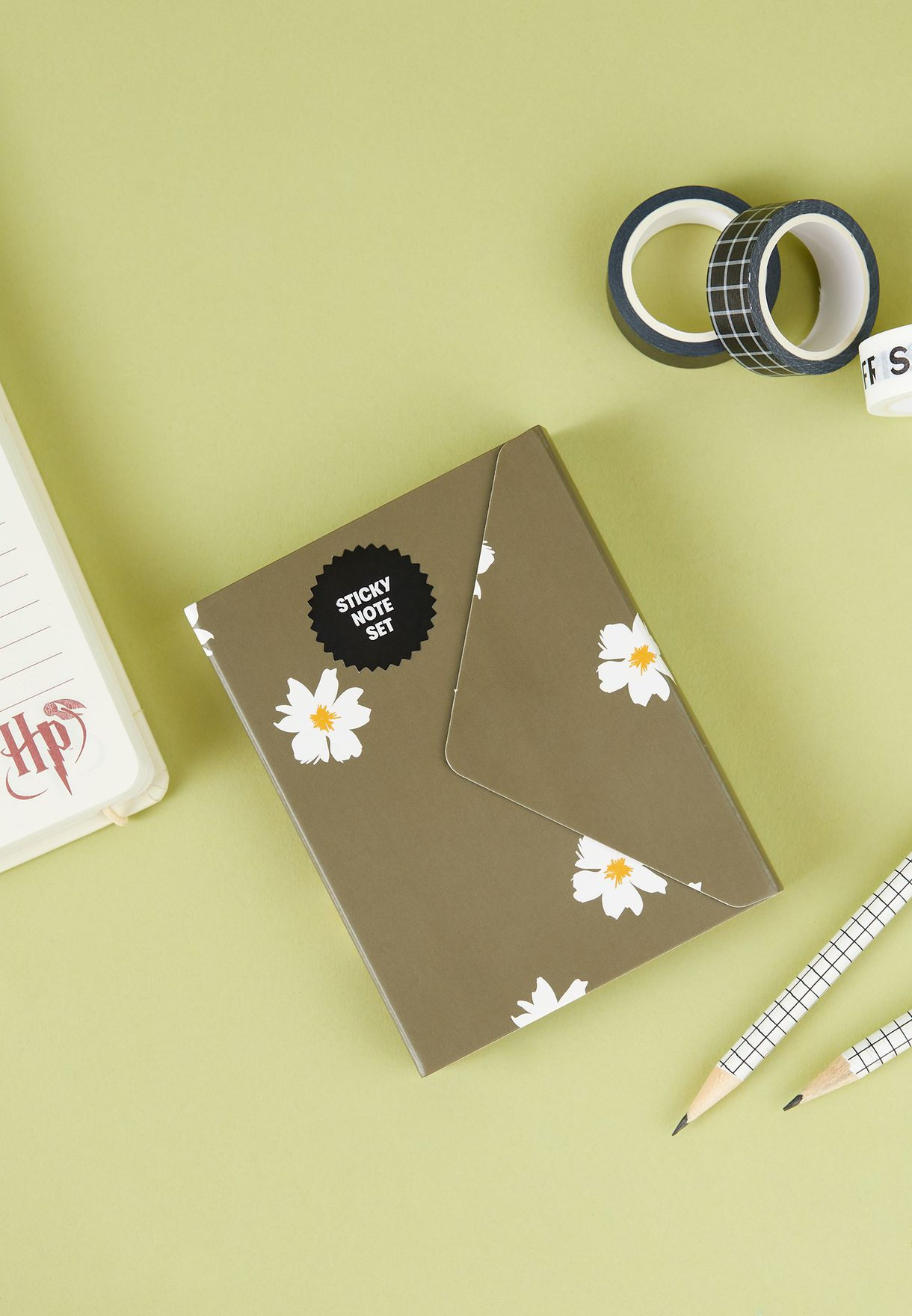 Daisy Pocket Sticky Note Set