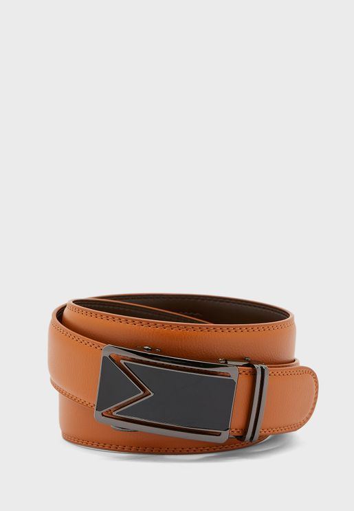Formal Free Size Genuine Leather Belt