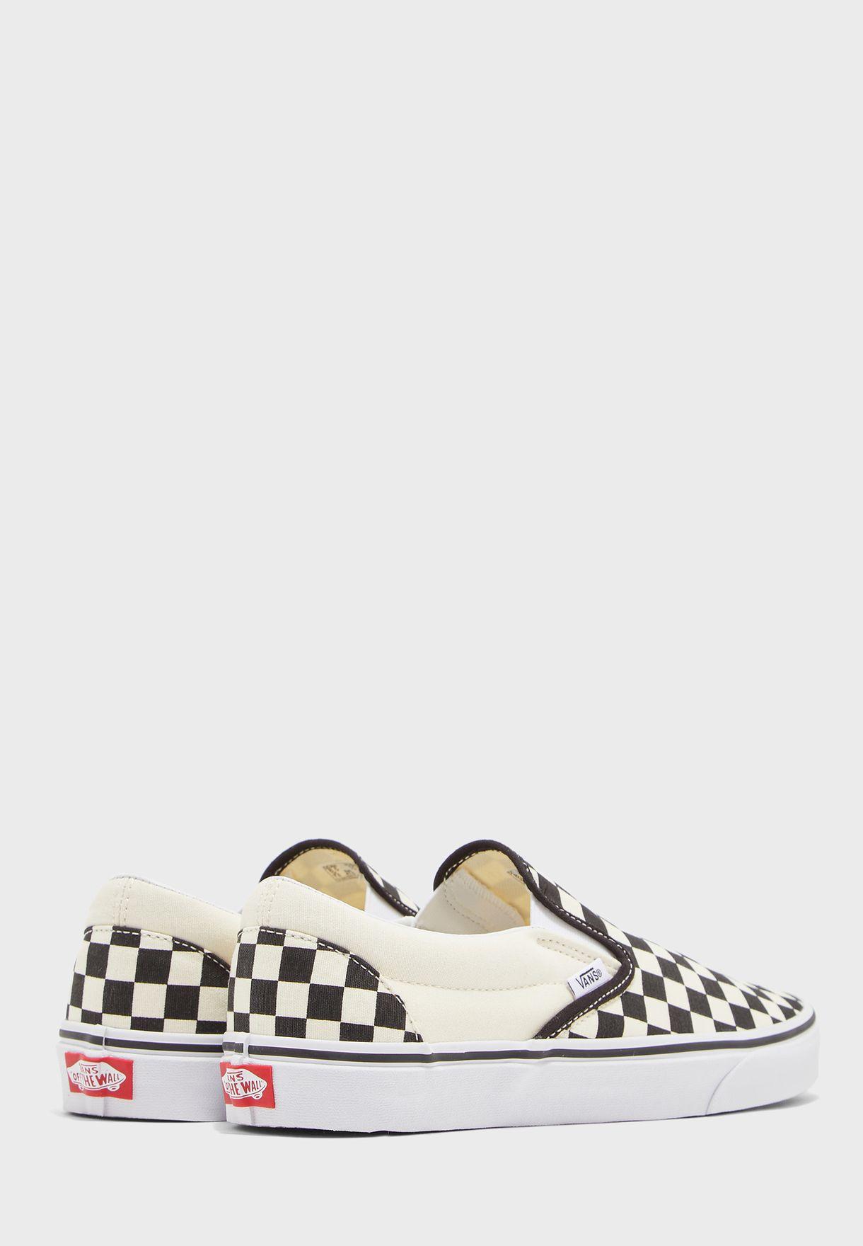 Classic Checkerboard Slip Ons