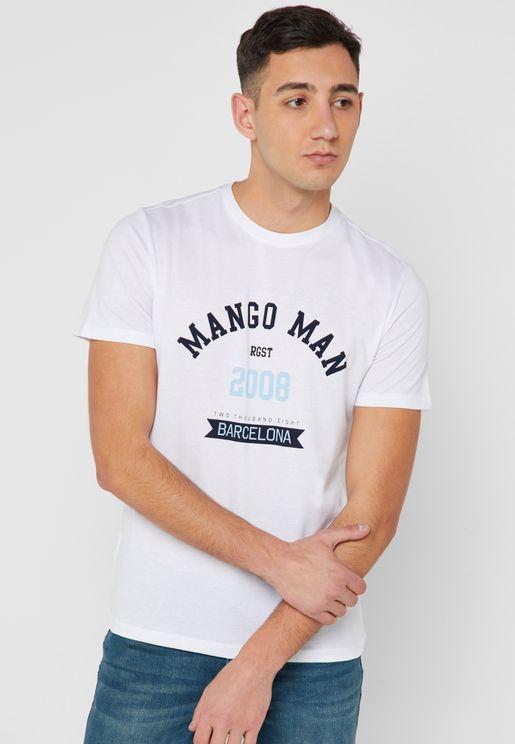 77276167e6c Mango Man T-Shirts and Vests for Men