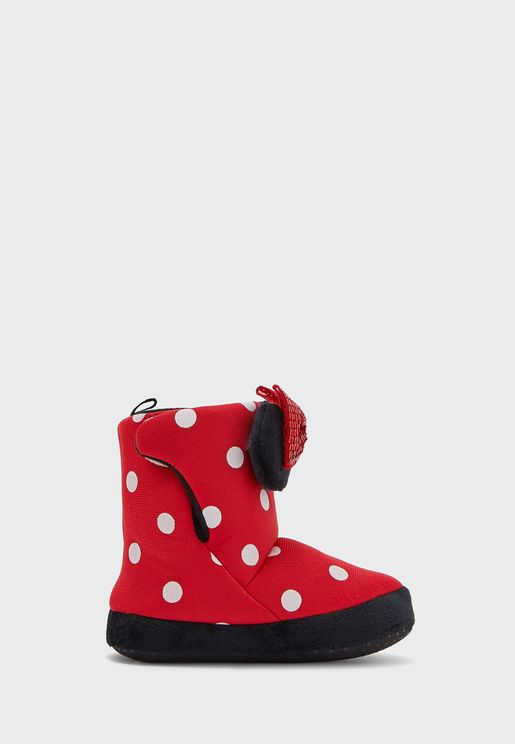 Kids Minnie Mouse Boots
