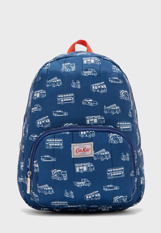 Kids Toy Traffic Mono Backpack