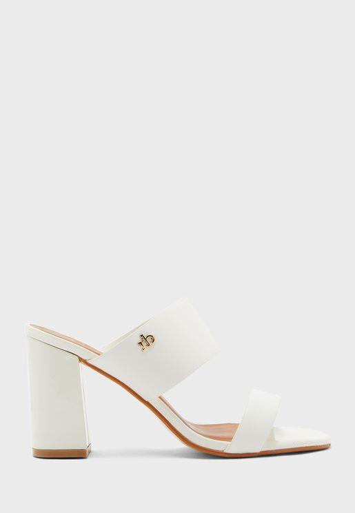 Fillide Mid Heel Sandal