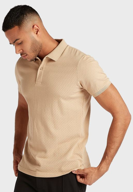 Quilted Polo