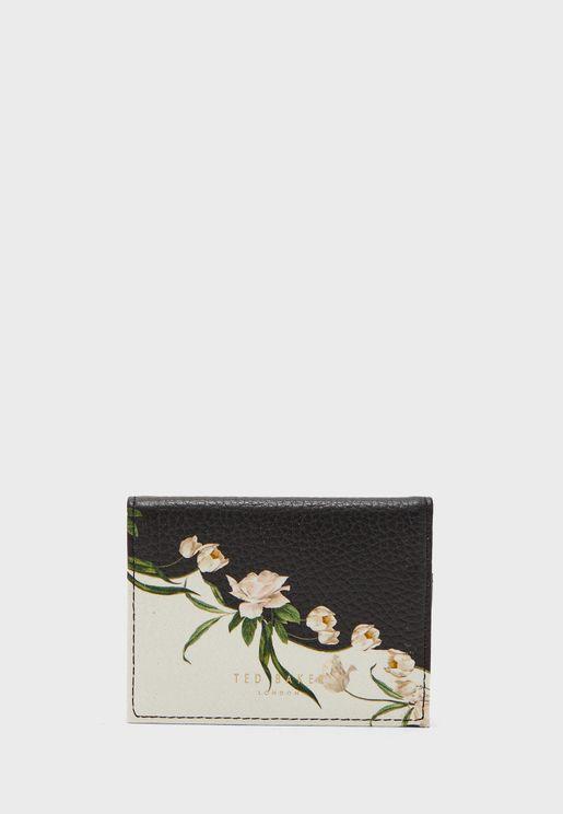 محفظة جلد قابلة للطي