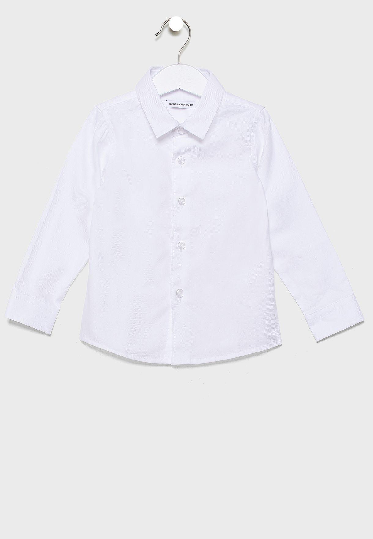 Infant Essential Shirt + Bow Tie
