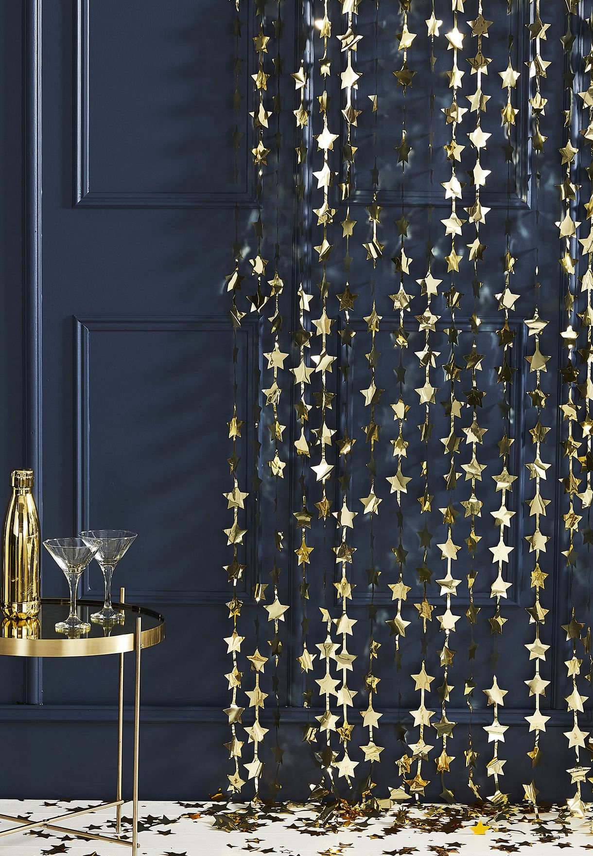 Star Backdrop Curtain Decoration