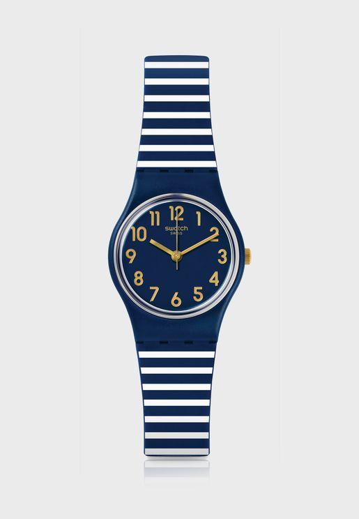 The Dark Blue Analog Watch