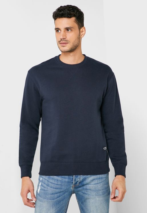 Soft Relaxed Fit Sweatshirt