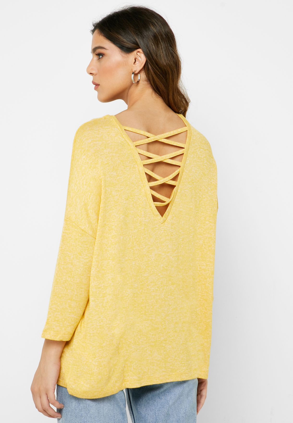 Oversized String Top