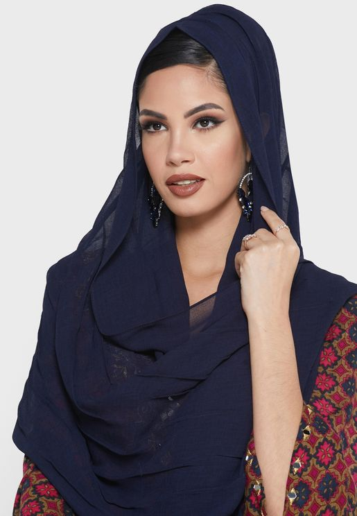 Embroidered Detail Hijab
