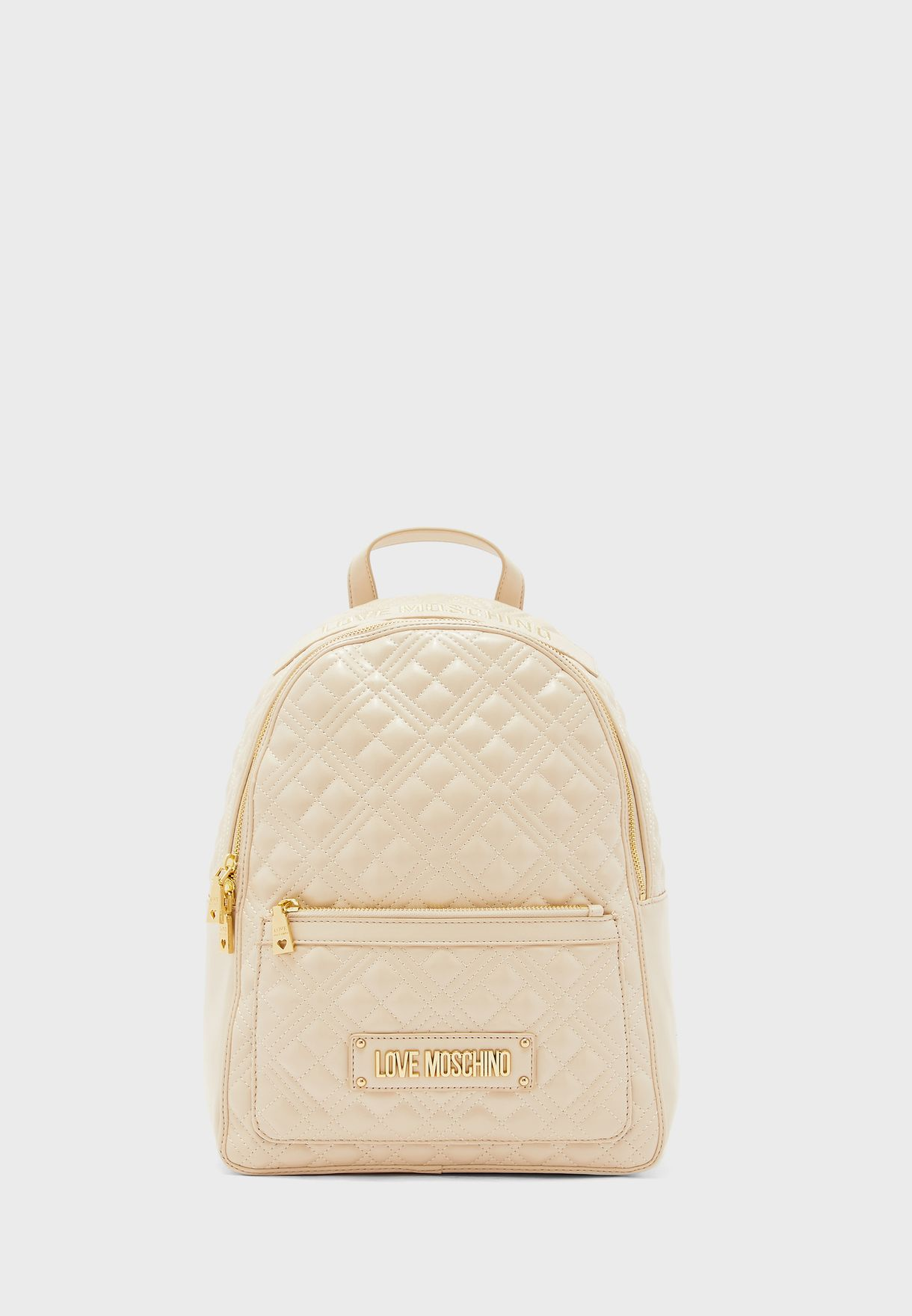 Top Handle Logo Backpack