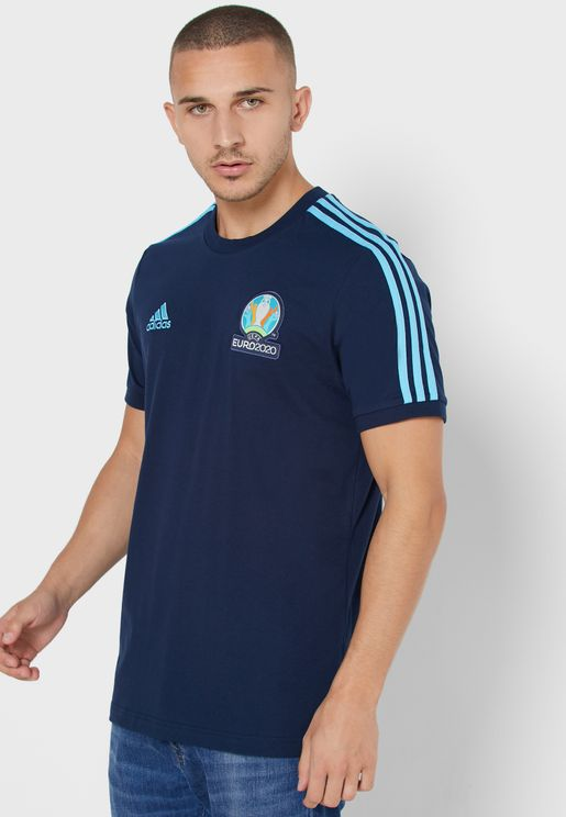 Emblem 3 Stripe T-Shirt
