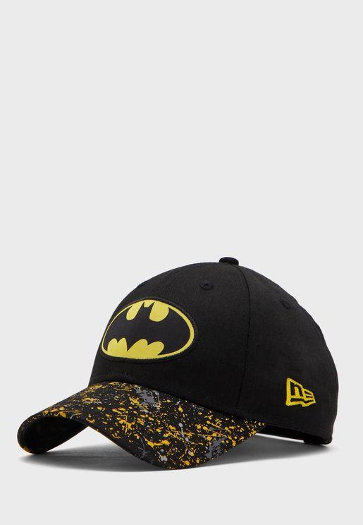 كاب مزين بشعار باتمان