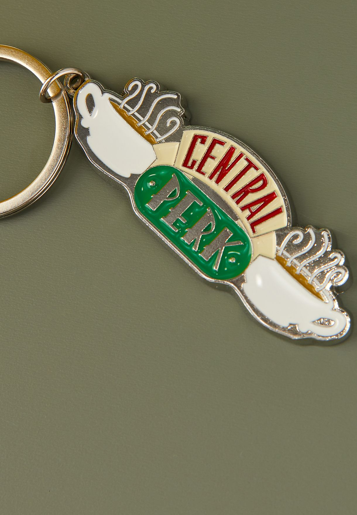 Friends Central Perk Keyring