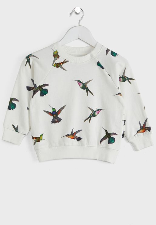Katthult Hummingbirds Sweatshirt