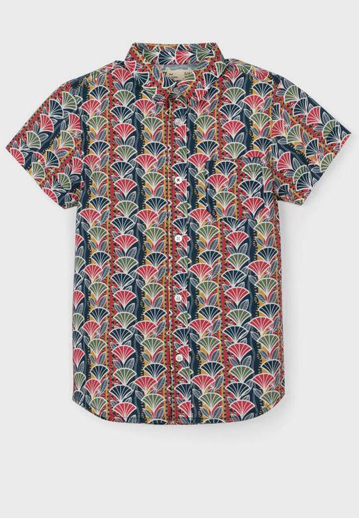قميص بطبعات للاطفال