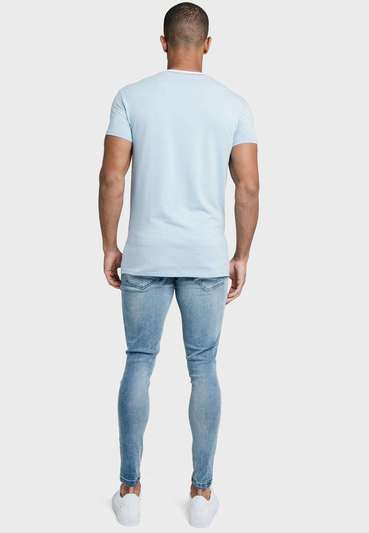 Ribbed Gym T-Shirt