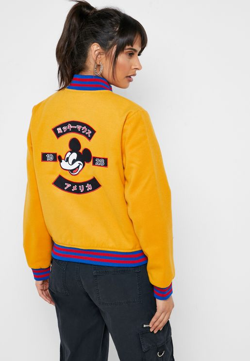 Mickey Bomber Jacket