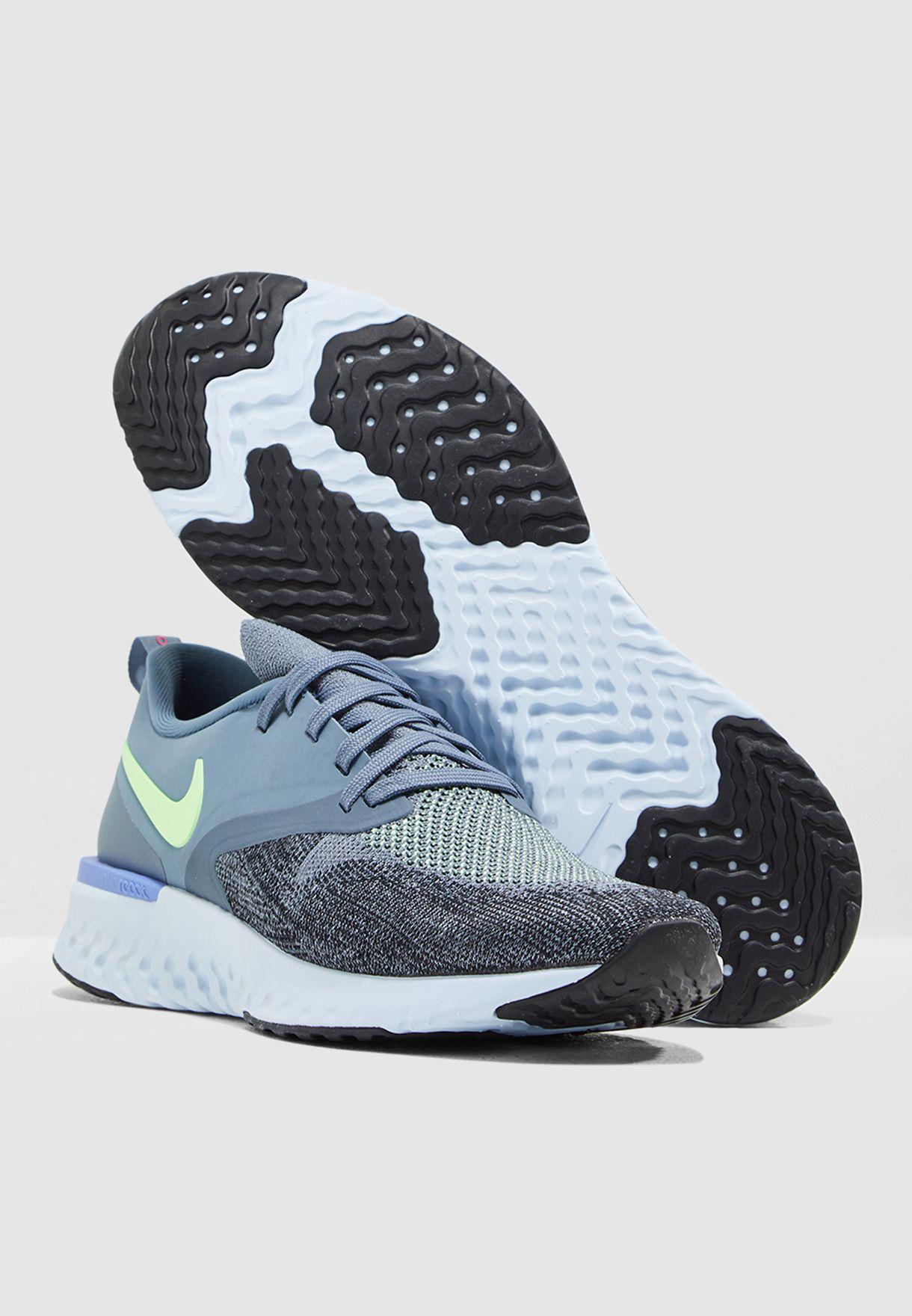 e747be60a3c68 Shop Nike multicolor Odyssey React 2 Flyknit AH1015-401 for Men in ...