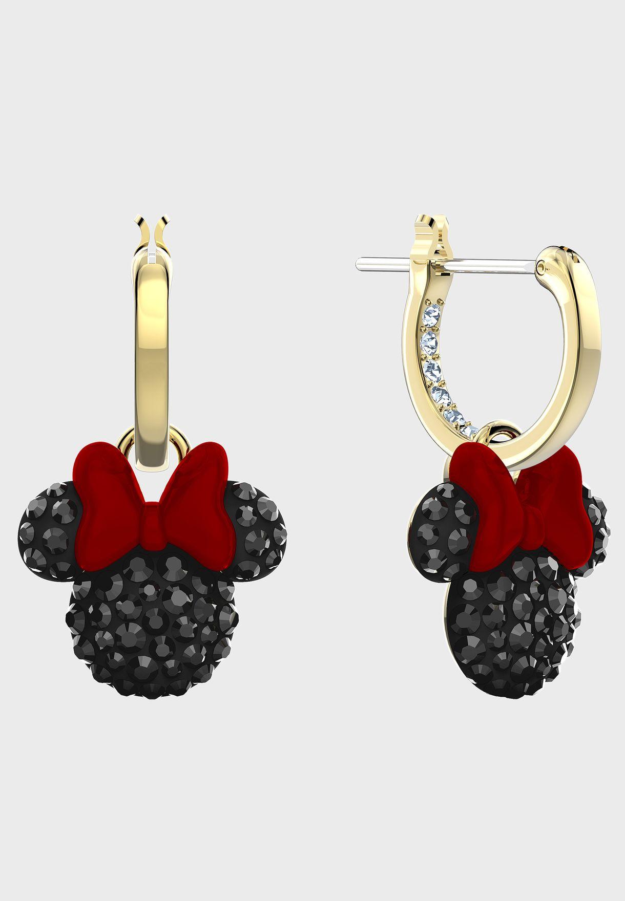 Mickey & Minnie Drop Earrings