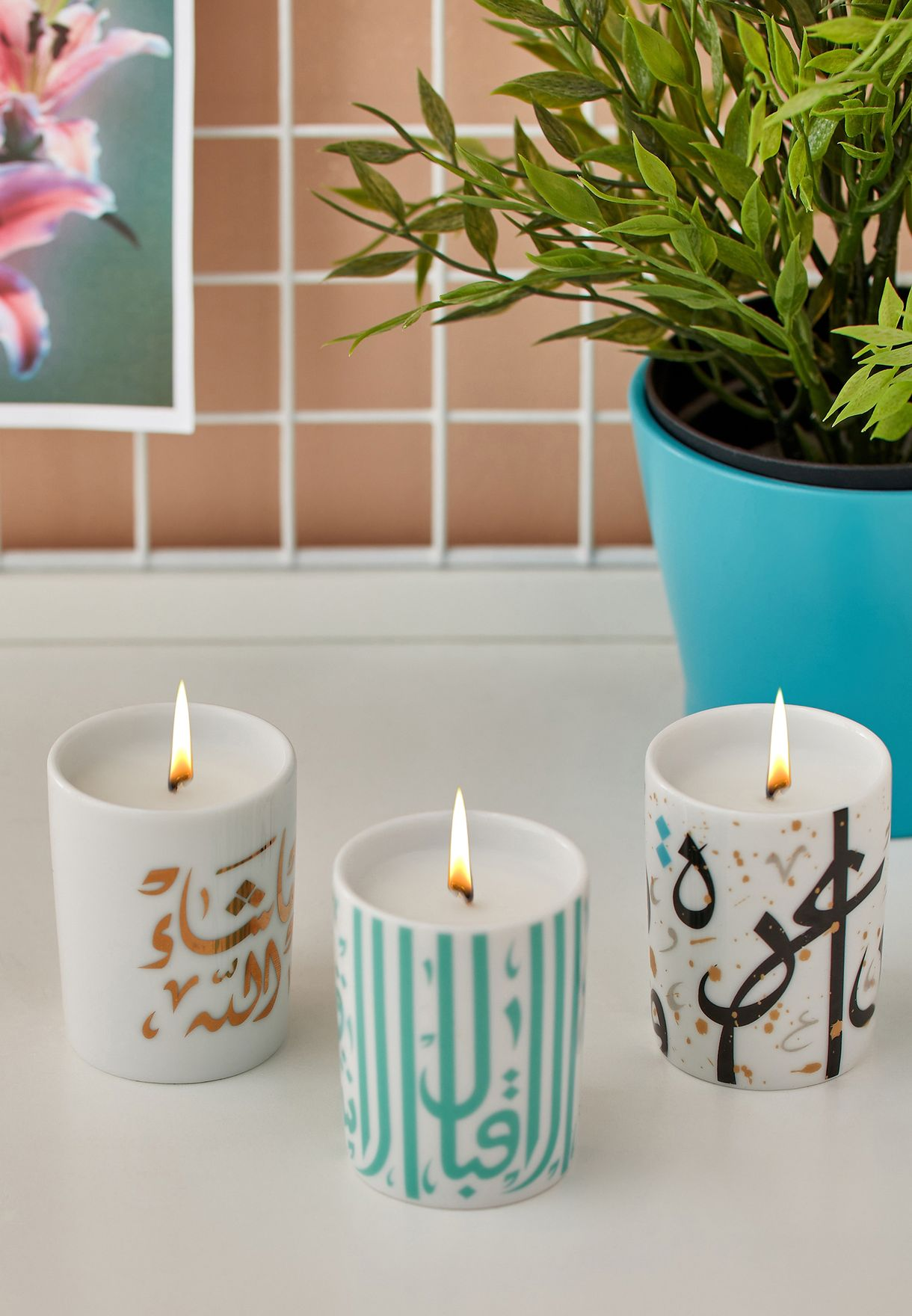 Mix & Match Candle Trio