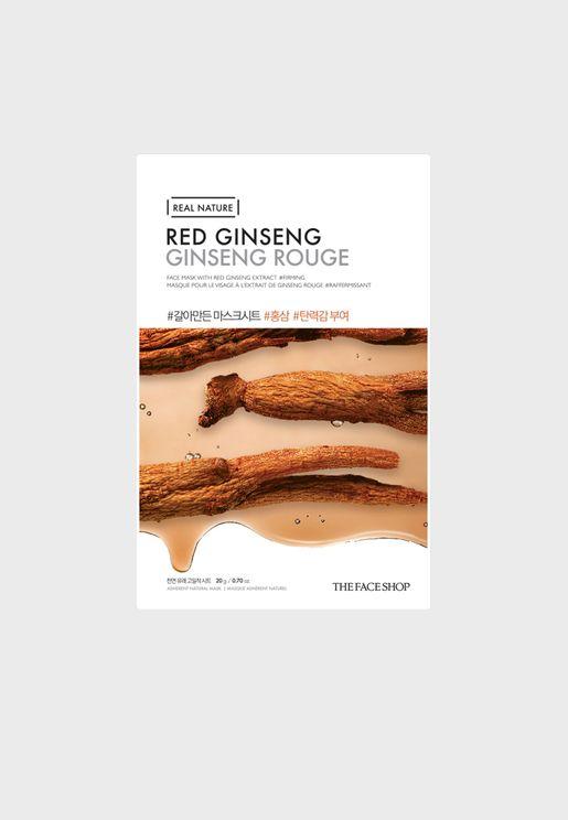 Real Nature Mask Sheet - Red Ginseng