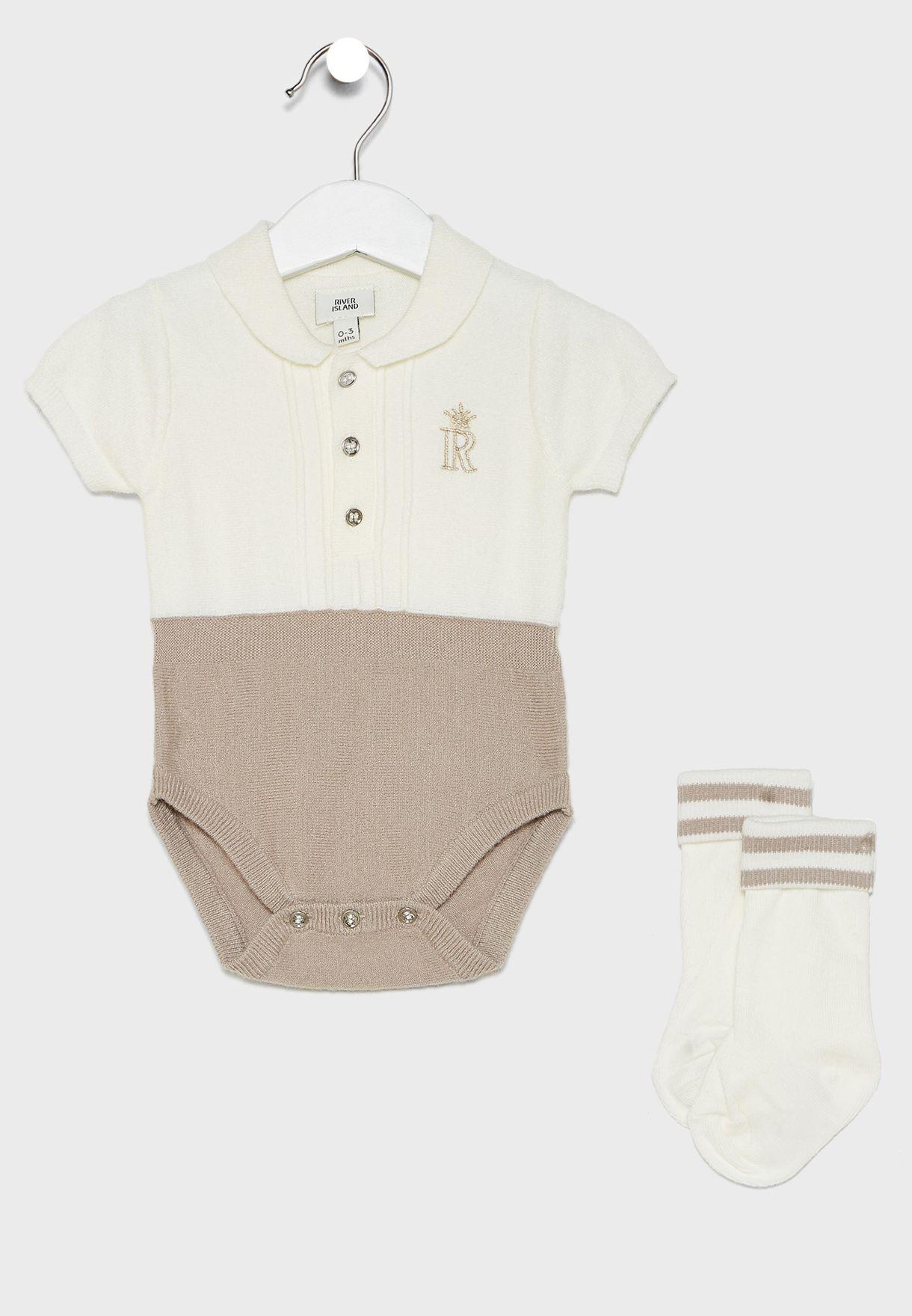 Infant 2 In 1 Bodysuit