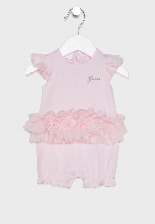 Infant Hem Ruffle Bodysuit
