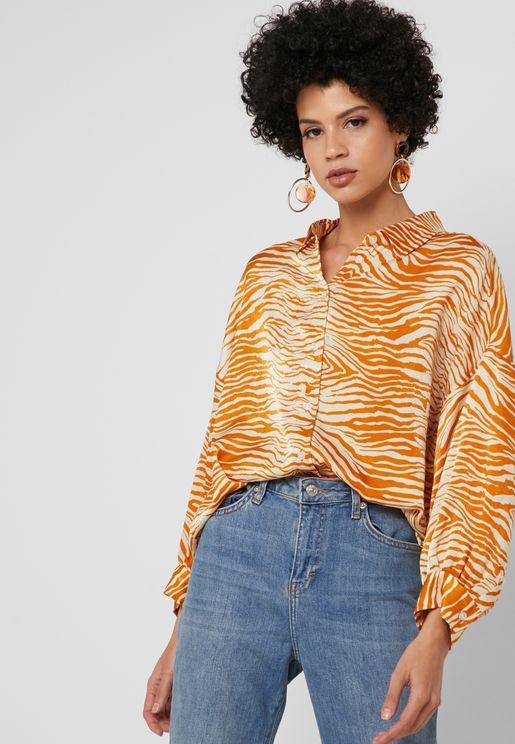 Zebra Print Shirt