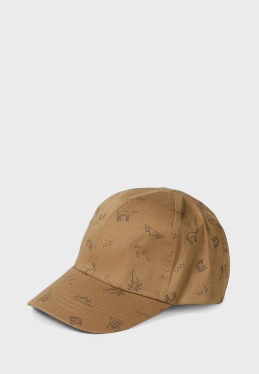Kids Printed Baseball Cap