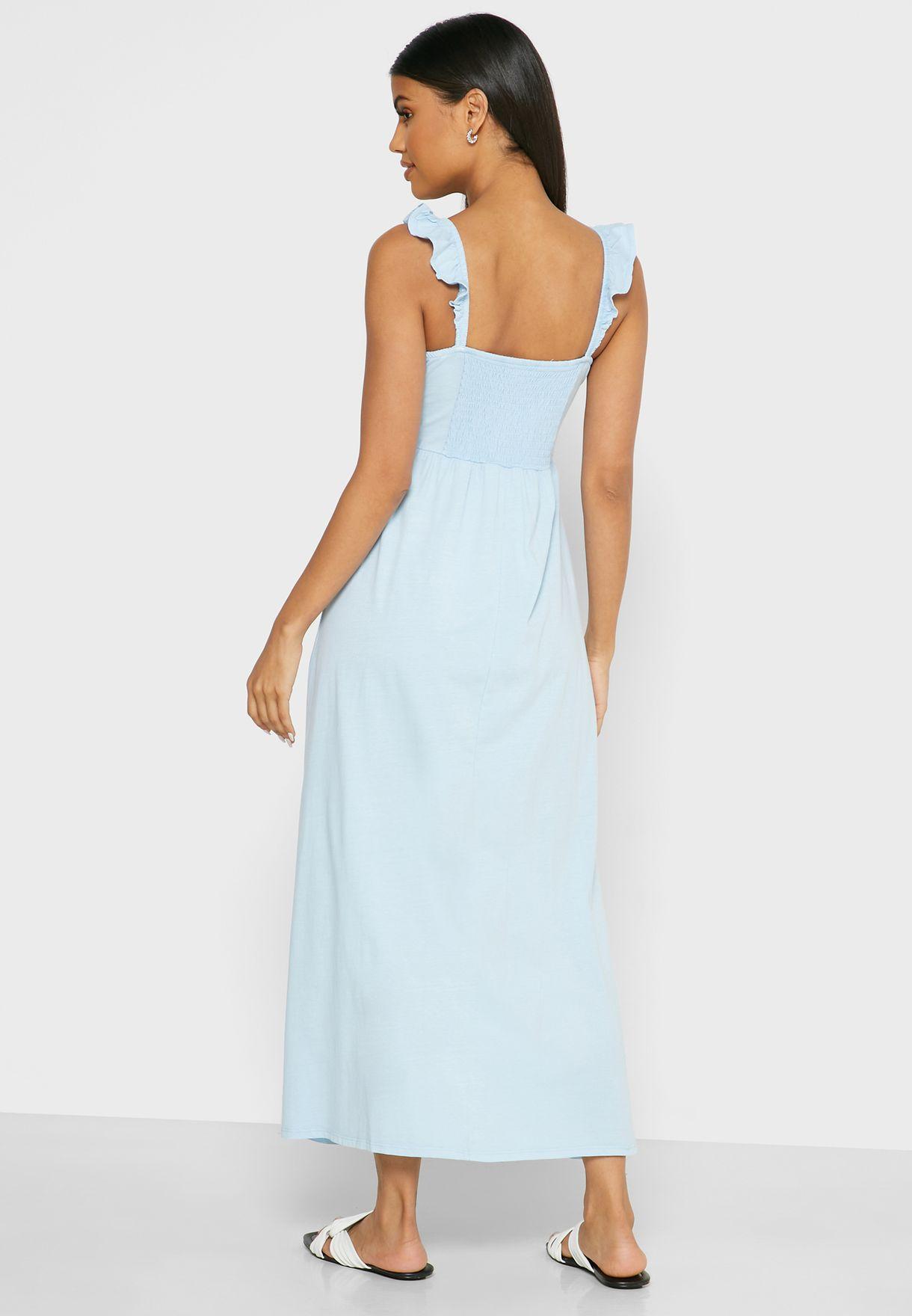 Cotton On Shirred Detail Cami Dress - Women Clothing kHOW8