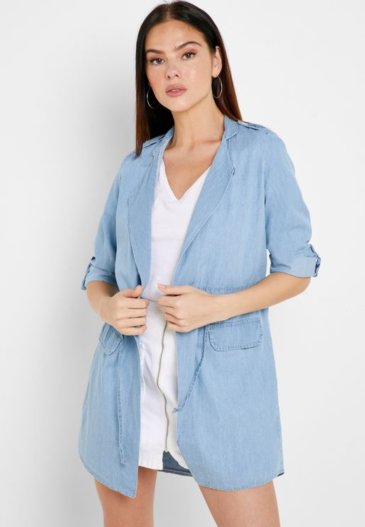 Lightweight Drawstring Tencel Jacket