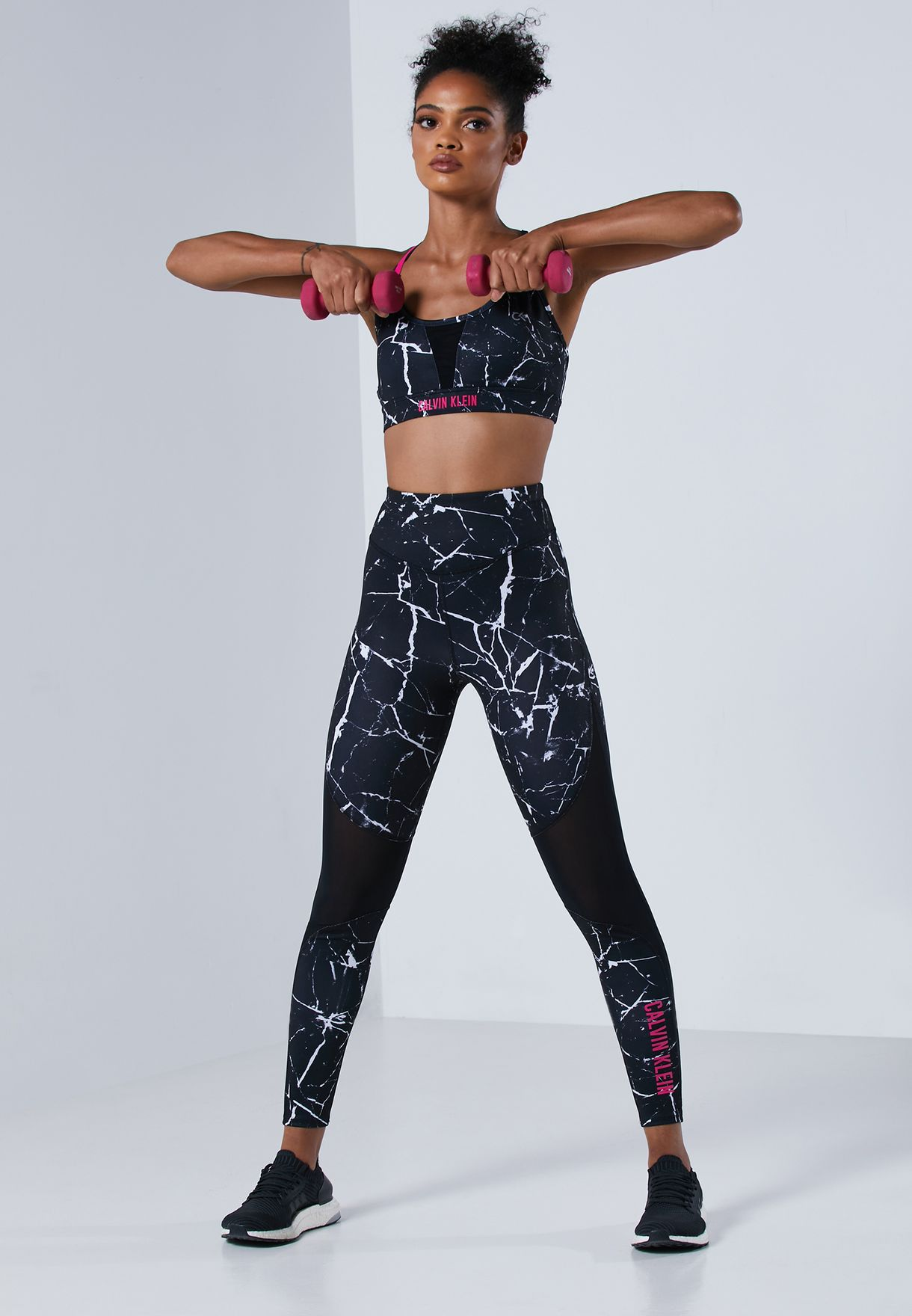 Graphic High Rise Tights