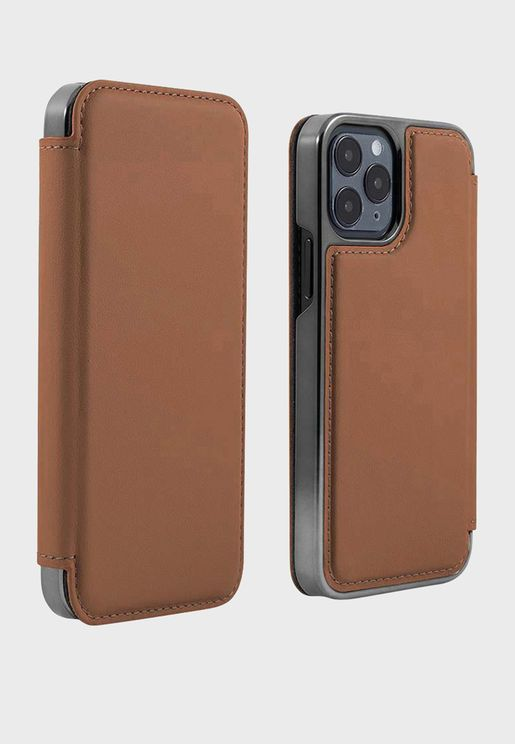 Real Leather Magsafe Iphone 12 / 12 Pro Case