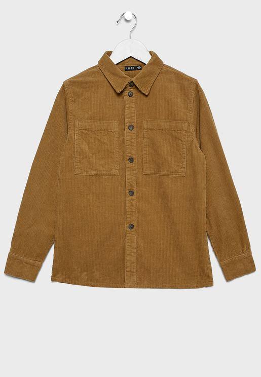 Teen Pocket Detail Shirt