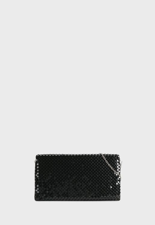 Big Mesh Party Clutch
