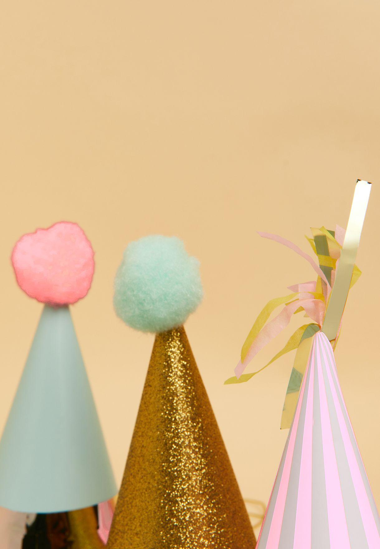 مجموعة قبعات للحفلات ( عدد 3)