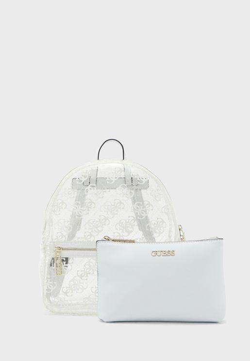 Tash Front Zip Backpack