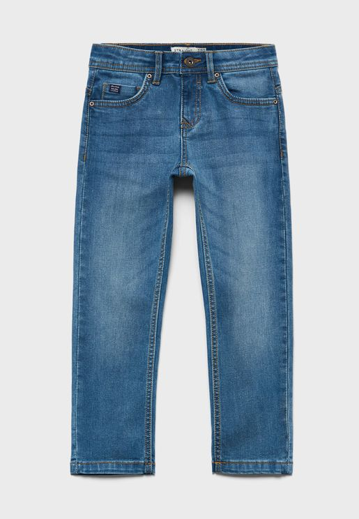 Kids Straight Fit Jeans