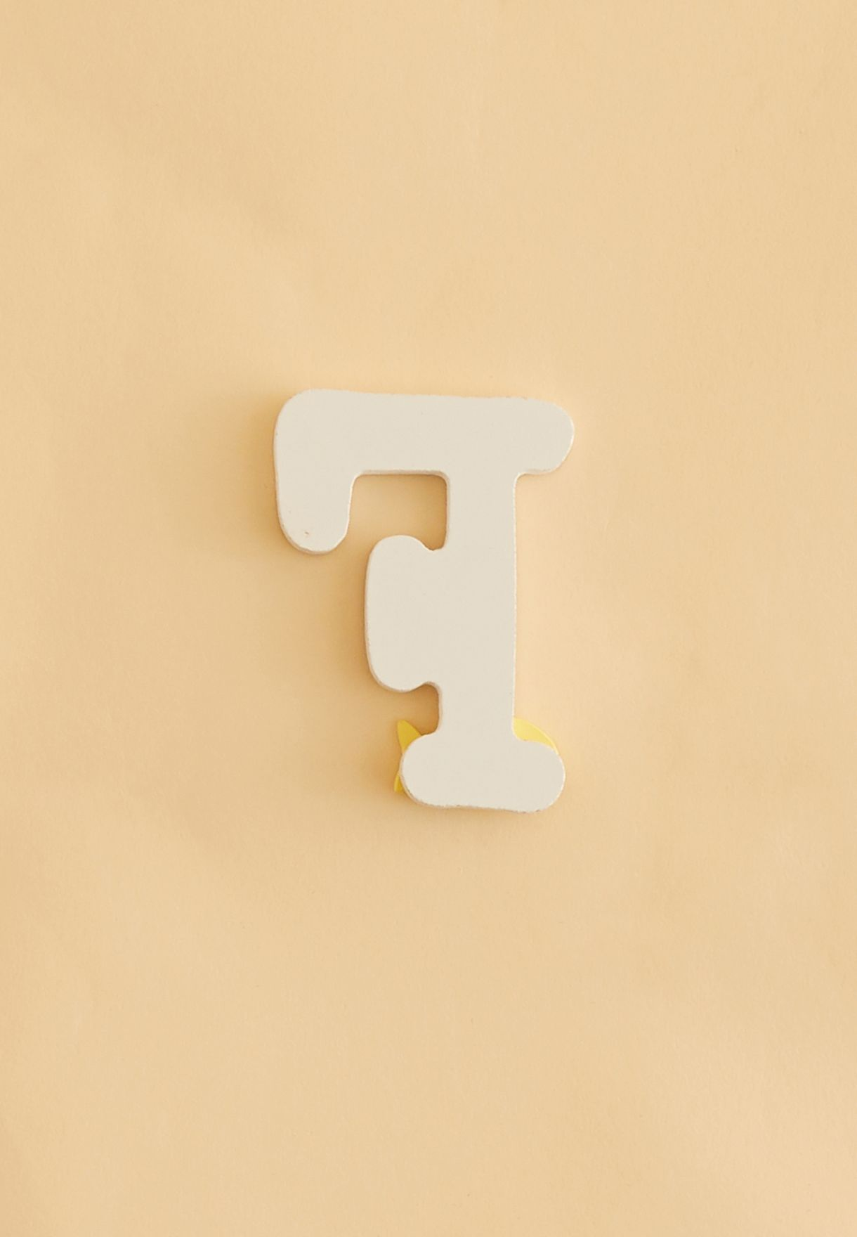 Initial F Wooden Letter