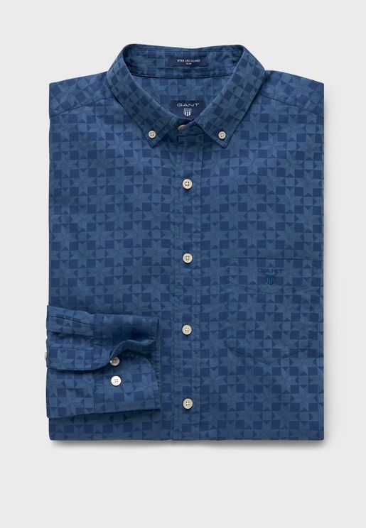Button Down Slim Fit Shirt