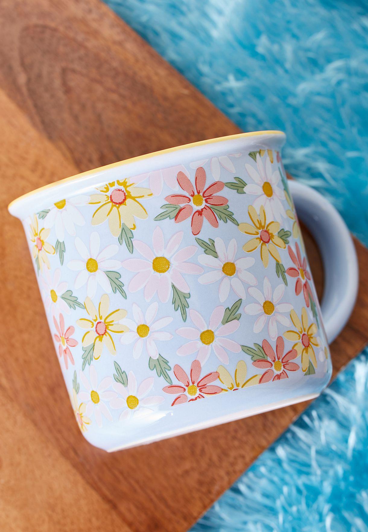 مج بطبعات زهور